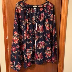 Blouse from Charming Charlie's NWT size XL